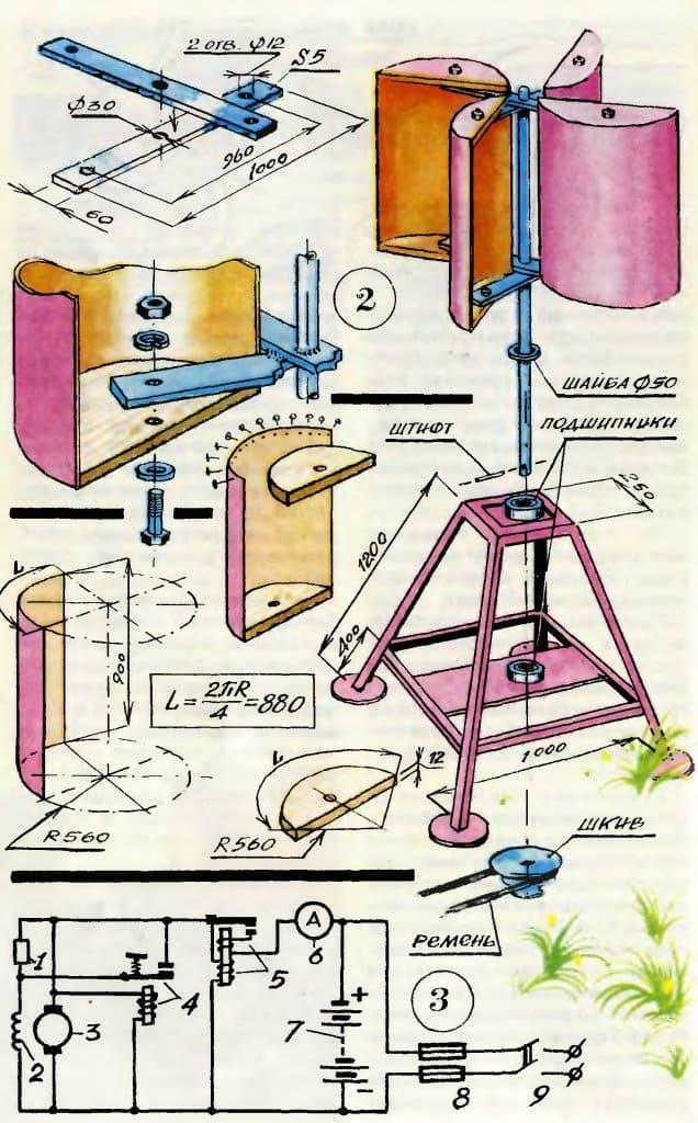 Как из генератора сделать ветровой генератор